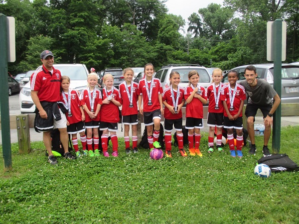 2008 Girls Red Virginian Elite Soccer Tournament Finalists