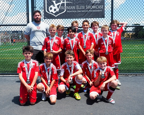 06 Boys Red Virginian Elite Soccer Tournament Finalists